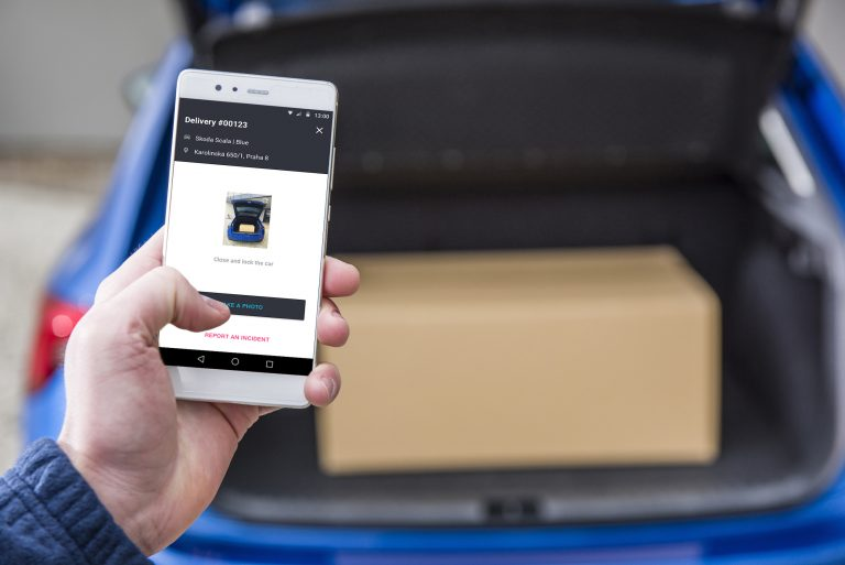 ŠKODA turns your car into delivery address for parcels