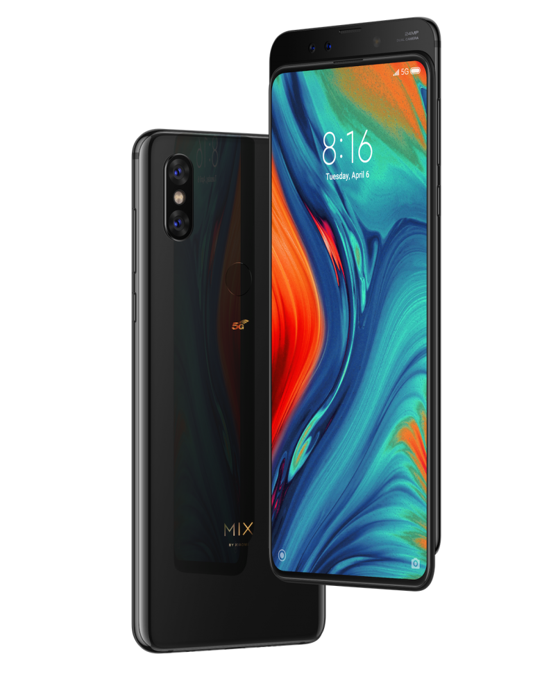 Xiaomi announces Mi MIX 3 5G smartphone with Vodafone