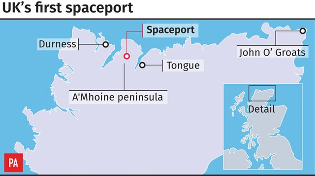 Sutherland Spaceport site questioned in new study