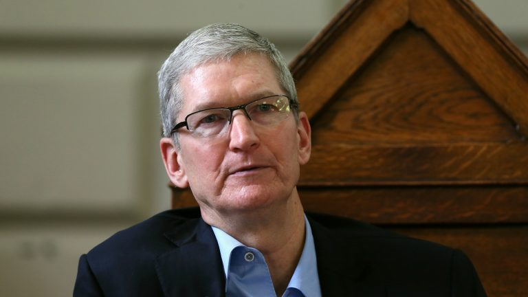 Apple's Tim Cook warns tech giants to be more responsible with data