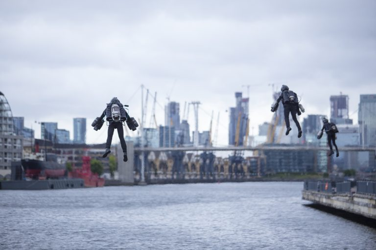 London Tech Week hosts Jet Suit Race over London