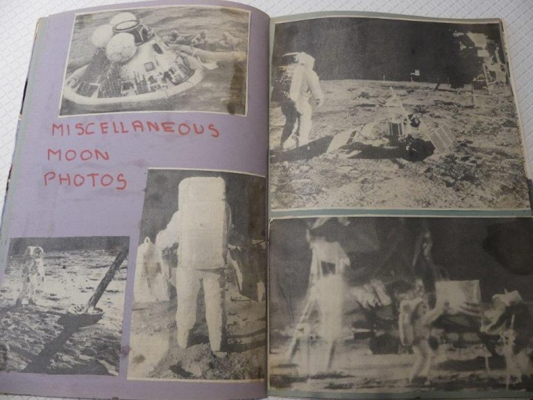 Britons share memories of Apollo 11 moon landing in digital scrap book