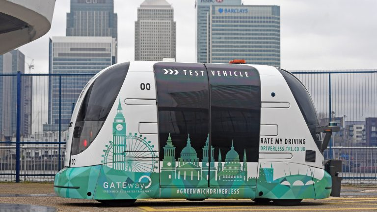 Department of Transport agrees programme for autonomous vehicles